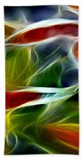 Candy Lily Fractal Panel 2 Beach Towel