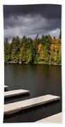 Canoe Lake Beach Towel