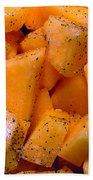 Cantaloupe Beach Towel
