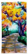 Canyon De Chelly In The Fall Beach Towel