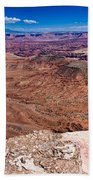 Canyon In Canyonlands Beach Towel