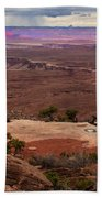 Canyonland Overlook Beach Towel