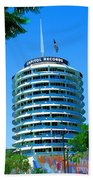 Capital Records Hollywood Beach Towel