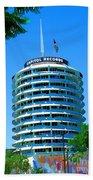 Capital Records Hollywood Beach Towel