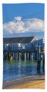 Captain Jack's Wharf Beach Towel