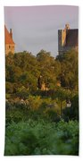 Carcassonne Dawn Beach Towel