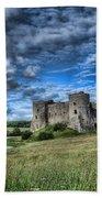 Carew Castle Pembrokeshire 3 Beach Towel