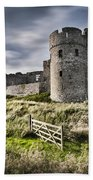 Carew Castle Pembrokeshire Long Exposure 2 Beach Towel