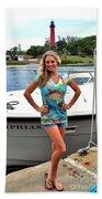 Carey Chen Ladies Clothing Beach Sheet