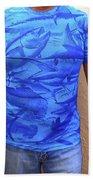 Carey Chen Performance Shirt Beach Towel