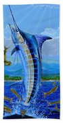 Caribbean Blue Beach Towel