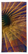 Carnival Abstract Lights Beach Towel