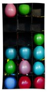 Carnival Balloons Beach Towel