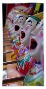 Carnival Of Clowns Beach Towel