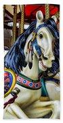 Carousel Horse 2 Beach Towel by Paul Ward