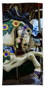 Carousel Horse 5 Beach Towel by Paul Ward