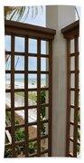 Casa Del Laplaya Beach Towel