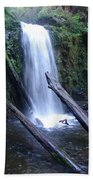 Rainforest Waterfall Cascades Beach Towel