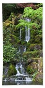 Cascading Waters Beach Towel