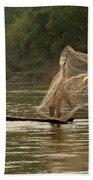 Casting A Net Beach Towel