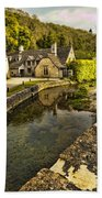 Castle Combe Bridgeside Beach Towel