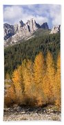 Castle Crags Autumn Beach Towel