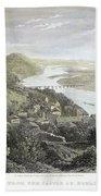 Castle Donaustauf, 1823 Beach Towel