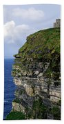 Castle On A Cliff, Obriens Tower Beach Towel