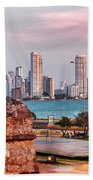 Castles Made Of Sand Beach Towel by Skip Hunt