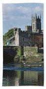 Castles, St Johns Castle, Co Limerick Beach Towel