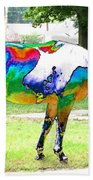 Catch A Painted Pony Beach Towel