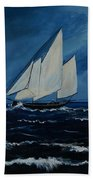 Catching The Wind Beach Towel