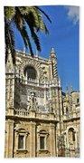 Catedral De Santa Maria De La Sede - Sevilla Beach Towel