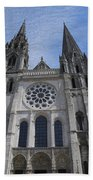 Cathedral At Chartres Beach Towel