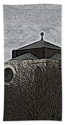 Cathedral On The Hill Beach Towel