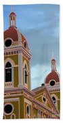 Cathedral On The Square 2 Beach Towel