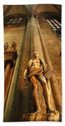Cathedral Statue Milan Italy Beach Towel