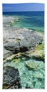 Cave Point Vista Beach Towel