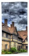 Cecilienhof Palace At Neuer Garten Berlin Beach Towel