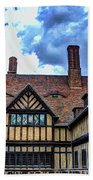 Cecilienhof Palace At Neuer Garten Beach Towel