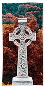 Celtic Cross Beach Towel
