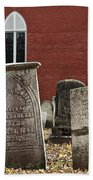 Cemetery And Church Beach Towel