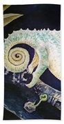 Chameleon Tail Beach Towel