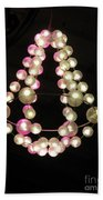 Chandelier From Pearls Beach Towel