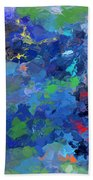 Chaotic Nature Beach Towel