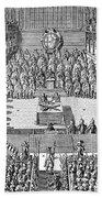 Charles I (1600-1649) Beach Towel