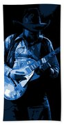 Playing The Blues At Winterland In 1975 Beach Towel