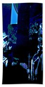 Winterland Blues 1975 Beach Towel