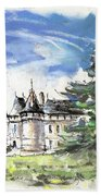 Chateau De Chaumont In France Beach Towel