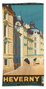 Chateau De Cheverny Beach Towel